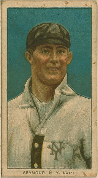 Cy Seymour - Cy Seymour's baseball card