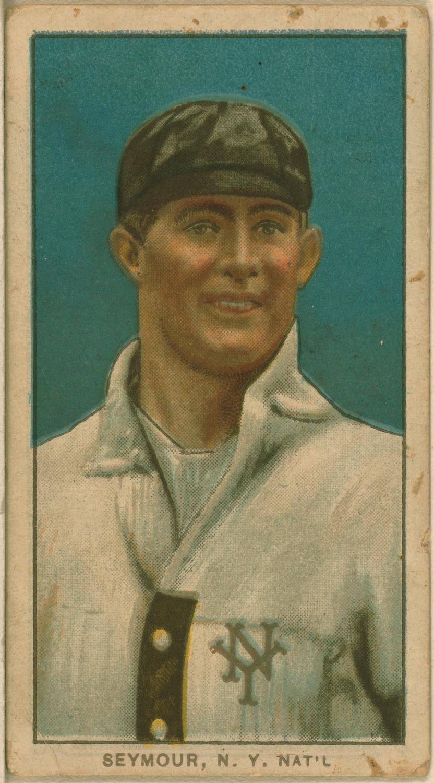 Cy Seymour baseball card