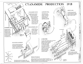 Cynanamide Production 1918 - United States Nitrate Plant No. 2, Reservation Road, Muscle Shoals, Muscle Shoals, Colbert County, AL HAER ALA,17-MUSHO,1- (sheet 5 of 7).png