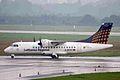 D-BPPP ATR.42-512 LH Reg-Ctact Air DUS 26JUL08 (5930132527).jpg