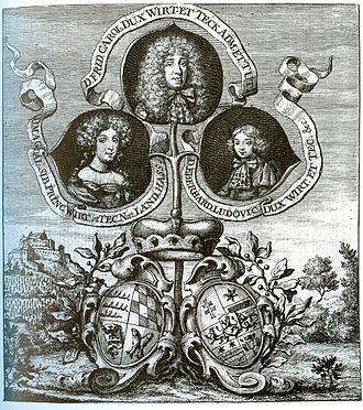 Frederick Charles, Duke of Württemberg-Winnental - Image: DH Magdalene Sibylle