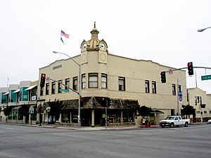 National Register of Historic Places listings in San Benito County, California - Image: DSC00735 Eastern Star Masonic Temple building, Hollister, California, June 16, 2007