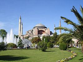 De Hagia Sophia in Eminonu