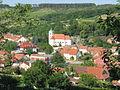 Dambořice - pohled na centrum obce.jpg
