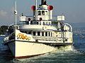 Dampfschiff Stadt Rapperswil - Bürkliplatz 2012-07-26 19-35-42 (P7000).JPG