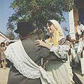 Dancing at a wedding in the village Tașlîc, Grigoriopol district, 1969. (6915056431).jpg