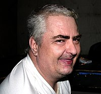 Daniel Johnston at Emos 1.jpg