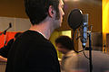 Daniel Offerman, Marc Morgan album recording, LowSwing studio, Berlin, 2011-01-23 15 45 40.jpg