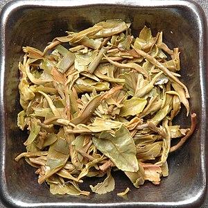 Darjeeling tea - First flush Darjeeling tea before and after steeping