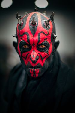 Cosplay de Dark Maul.