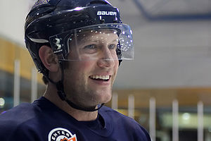 David Backes - Backes with the Blues in 2011.