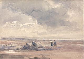 On Lancaster Sands, Low Tide