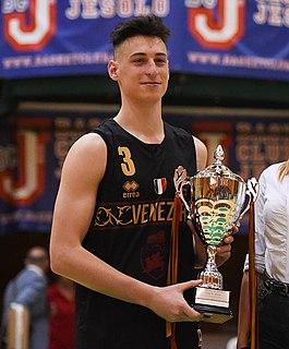 Davide Casarin Italian basketball player