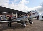 De Havilland DH 84 Dragon G-ECAN wheeled out onto the runway (5922579037).jpg