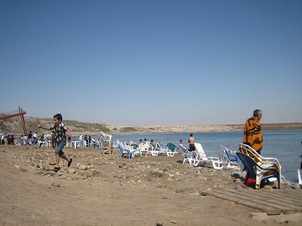 Dead Sea Qalya Beach