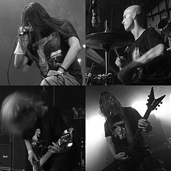 Decapitated (band) in grayscale.jpg
