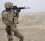Defense.gov News Photo 120121-F-SA682-027 - U.S. Army Capt. Devin Ciminero a Kandahar Provincial Reconstruction Team security force company commander with 1st Platoon Alpha Company 1st.jpg