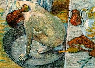 La Toilette (Toulouse-Lautrec) - Image: Degas tub