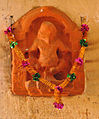 Deity in Meherangarh fort.jpg