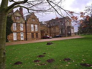 Delapré Abbey - The west front