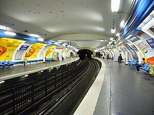 Denfert-Rochereau (Paris Métro) - Image: Denfert Rochereau Quais