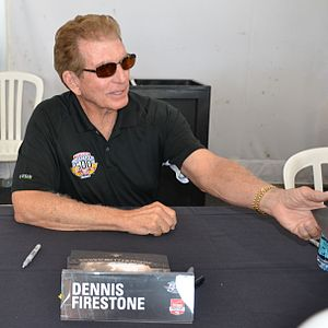 Dennis Firestone - Image: Dennis Firestone At 2015indy 500