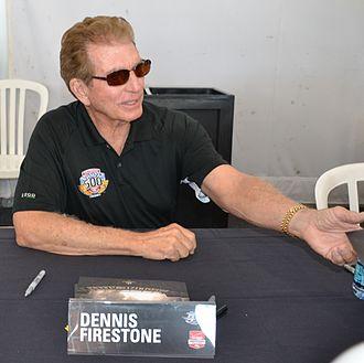 Dennis Firestone - Image: Dennis Firestone At 2015indy 500