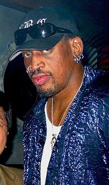 Dennis Rodman nel 2001