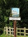 Denver village sign (sluice side) - geograph.org.uk - 925459.jpg