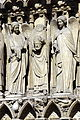 Detail of the Portail de la Vierge, Notre-Dame de Paris 13 April 2015.jpg