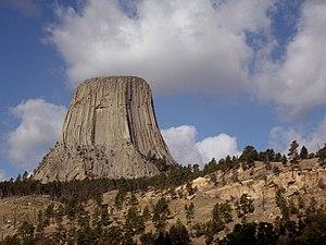 Sundance, Wyoming - Devils Tower National Monument near Sundance, Wyoming