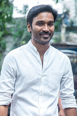 Dhanush at the 'Asuran' Success Meet.jpg