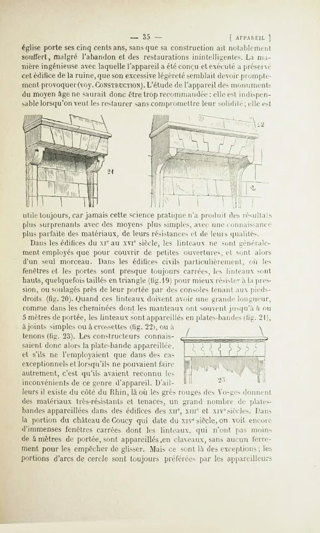 Linteau En Arc De Cercle page:dictionnaire raisonné de l'architecture française du