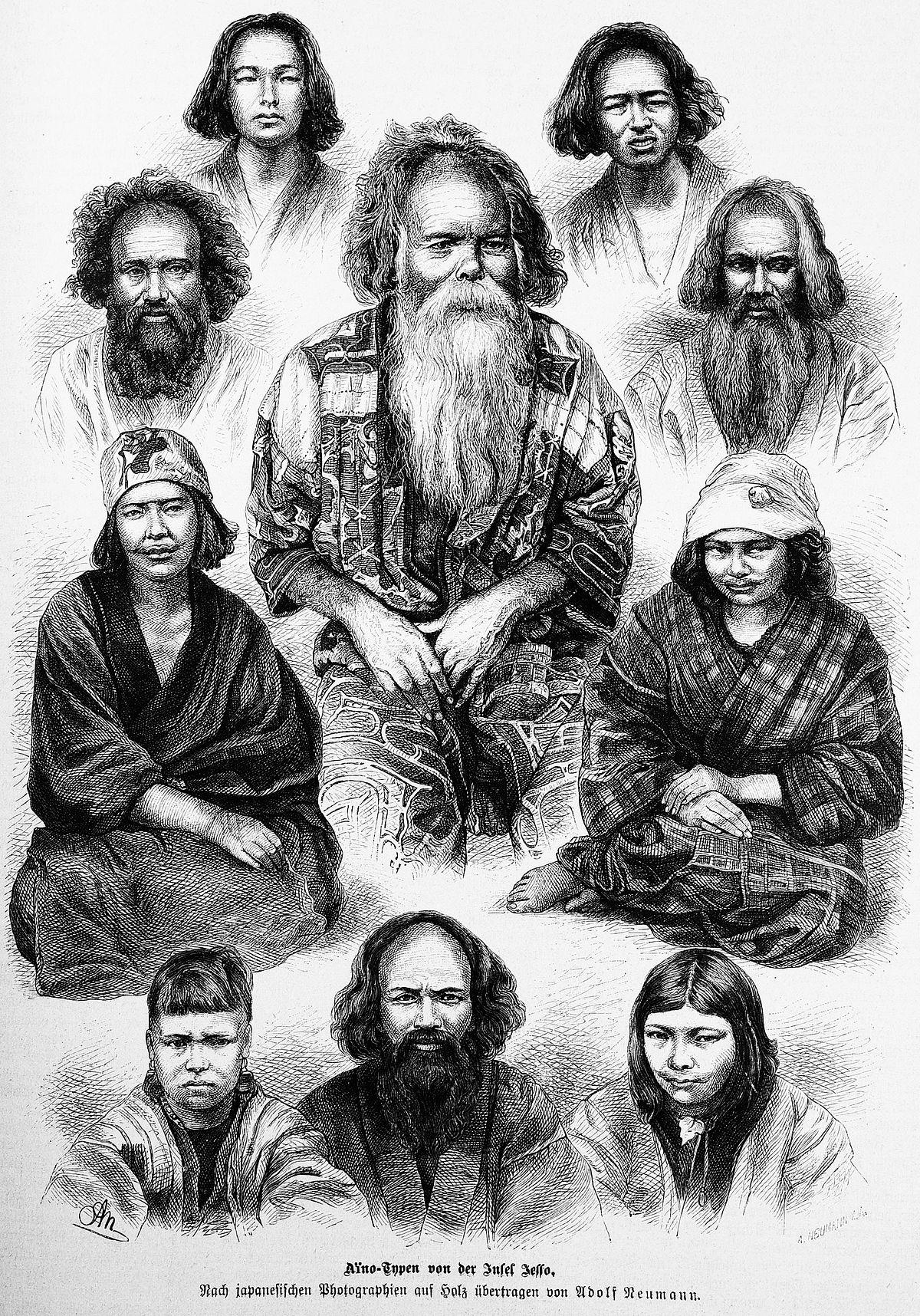 Bildergebnis für Ainu Wiki