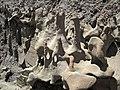 Differentially cemented & eroded sandstone (member C, Uinta Formation, Eocene; Fantasy Canyon, Utah, USA) 49 (24844490785).jpg