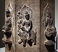 Dinastia tang, sezione di un pilastro dharani, 618-907 ca. 02.jpg