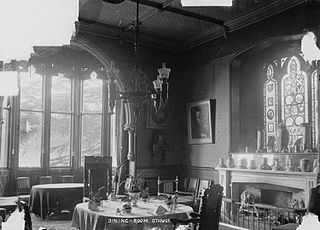 Dining-room. Stanage