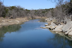 Dinosaur Valley State Park - The Paluxy River in Dinosaur Valley State Park