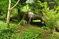 Dinosaur sculptures at Dan yr Ogof (9065).jpg