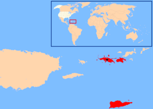 Roman Catholic Diocese of Saint Thomas - Image: Diocese of St. Thomas map