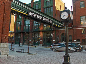 Parliament Street (Toronto) - Image: Distillery District, Toronto, Canada, 2006