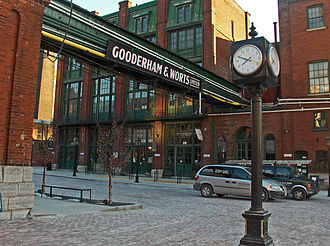 Gooderham and Worts - Image: Distillery District, Toronto, Canada, 2006
