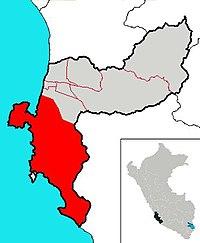 Distrito de Paracas , en la provincia de Pisco, Ica.JPG