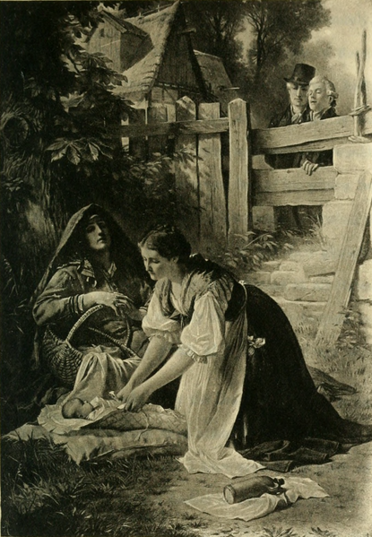 File:Do you see her,—the maiden (The Works of J. W. von Goethe, Volume 10).png