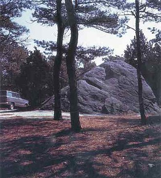 Glacial erratic - Doane Rock, at Cape Cod National Seashore