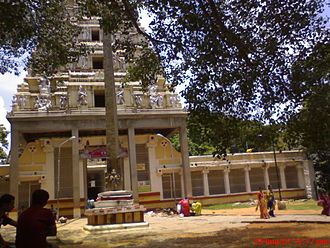 Dodda Ganeshana Gudi - View of the Bull temple