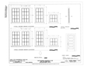 Door and Window Details - Fort Benning, Building No. 296, Hunt Club, Marne Road, Fort Benning Military Reservation, Chattahoochee County, GA HABS GA-2392-A (sheet 6 of 6).png