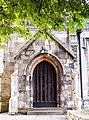 Door to St Cuthbert's Church, York.jpg