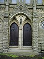 Doors, The Parish Church of St John the Evangelist, Facit - geograph.org.uk - 476511.jpg