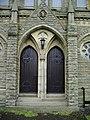 Doors, The Parish Church of St John the Evangelist, Facit - geograph.org.uk - 476511.jpg
